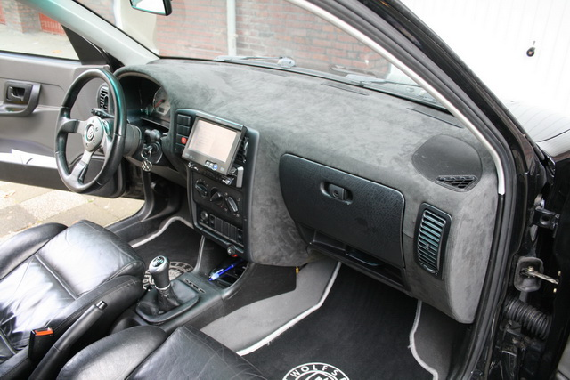 Caddy bekijk onderwerp ediejo zijn caddy voor for Interieur auto bekleden